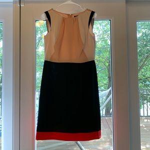 Ann Taylor color block dress - Size 4